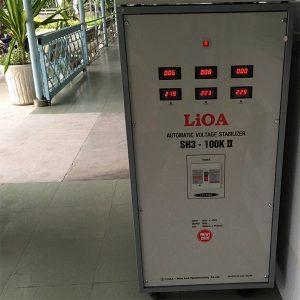 Ổn áp LiOA 100KVA 3 pha SH3-100K II