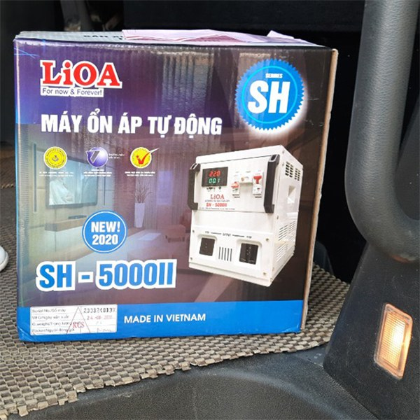 Ổn áp Lioa 5KVA SH-5000 II 2