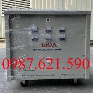 Biến áp 3 pha 380V/ 220V 30KVA
