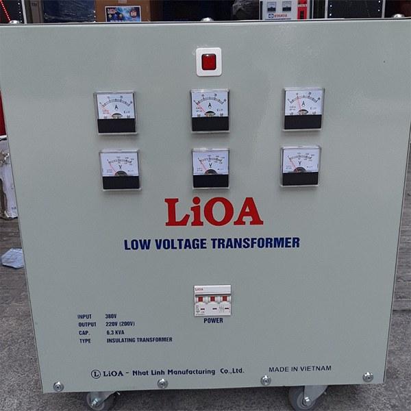Máy biến áp 6,3KVA cách ly LiOA