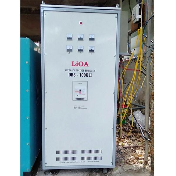 Ổn áp LiOA 100KVA 3 Pha DR3-100K II