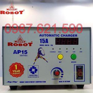 Nạp ắc quy Robot 15A