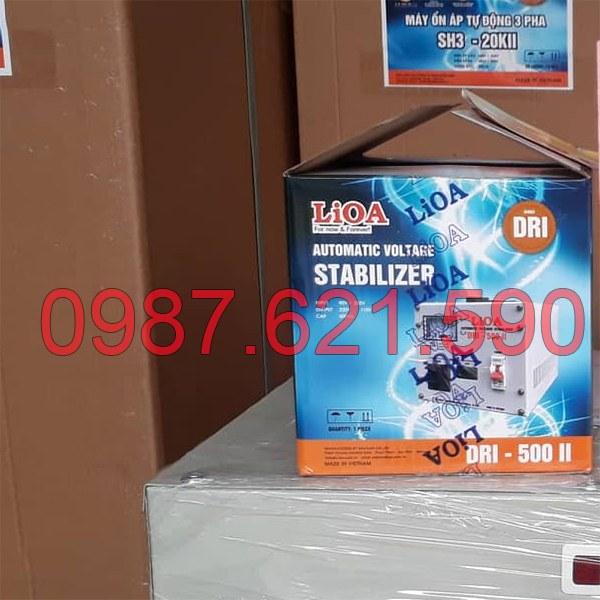 Ổn áp LiOA 0,5KVA DRI-500 II 2