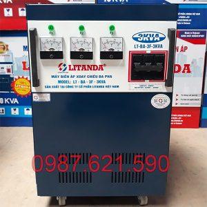Biến áp 3 pha 380V/ 220V 3KVA