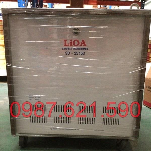 Biến áp vô cấp 1 pha LiOA SD-25150