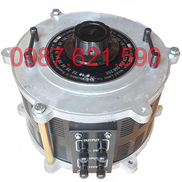 Biến áp vô cấp 1 pha LiOA SD-25100