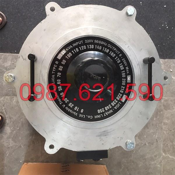 Biến áp vô cấp 1 pha LiOA SD-2550