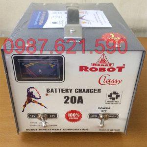 Nạp ắc quy Robot 20A